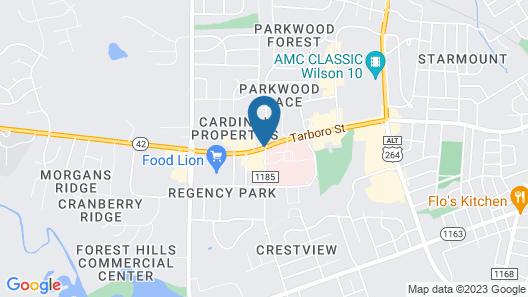 Days Inn by Wyndham Wilson Map