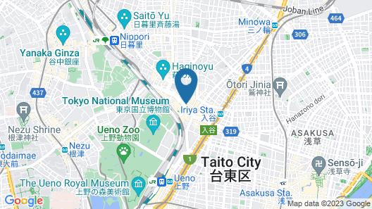 LANDABOUT Tokyo Map
