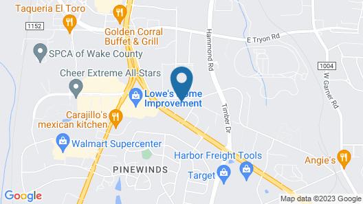 Best Western Plus Edison Inn Map