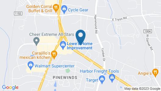 Econo Lodge South Map
