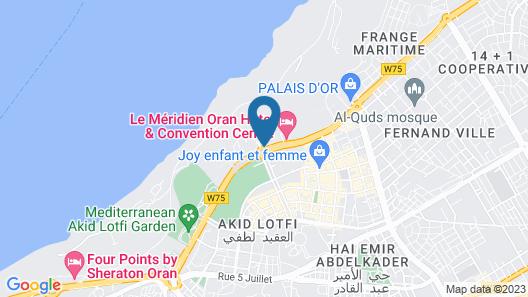 Le Méridien Oran Hotel & Convention Centre Map