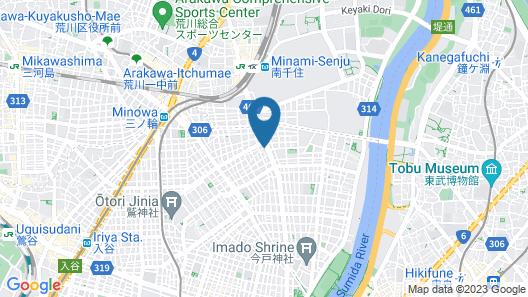 Aizuya Inn Map
