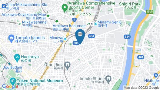 Andon Ryokan Map