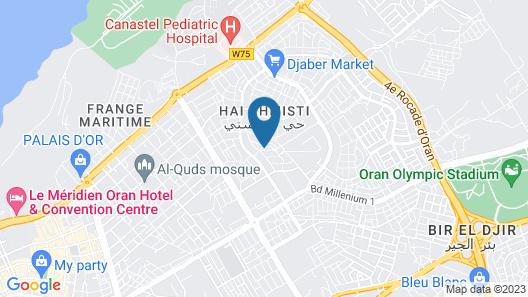 Hotel Lalla Mokhtara Map