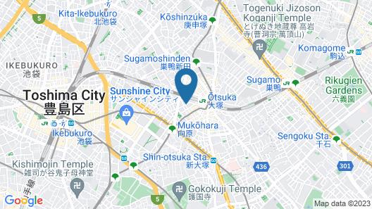 APA Hotel <Yamanote Otsuka Eki Tower> Map