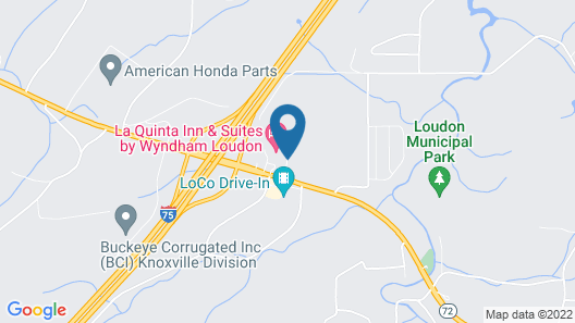 La Quinta Inn & Suites by Wyndham Loudon Map