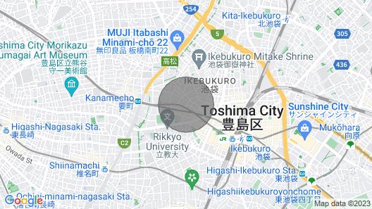 2 Minutes From Ikebukuro Comfortable and Styli - White Bird Ikebukuro / Toshima-ku Tokyo Map