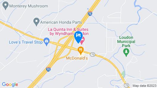 Inn of Loudon Map