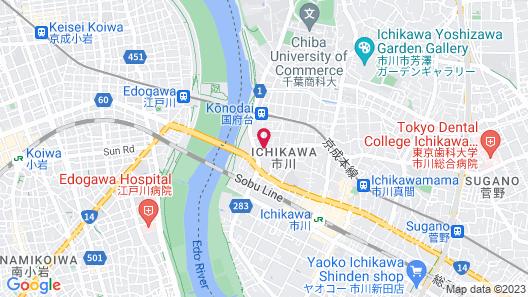 SLE Japan Ichikawa House Map