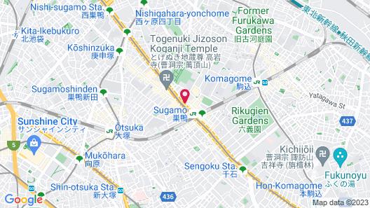 APA Hotel Sugamo Ekimae Map