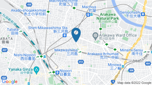 Randor Residence Tokyo Classic Map