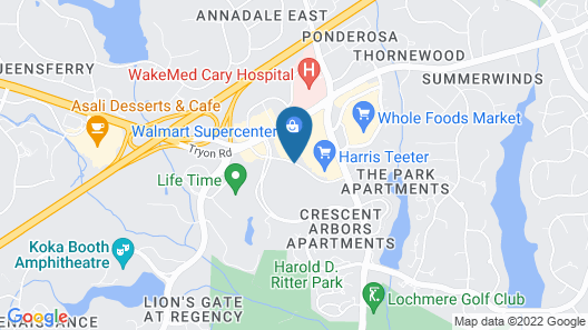 La Quinta Inn & Suites by Wyndham Raleigh Cary Map