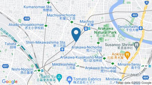 Randor Residence Tokyo Suites  Map