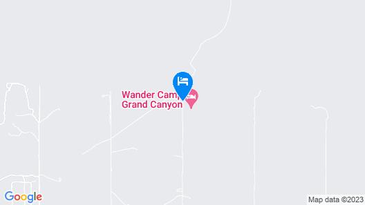 Wander Camp Grand Canyon Map