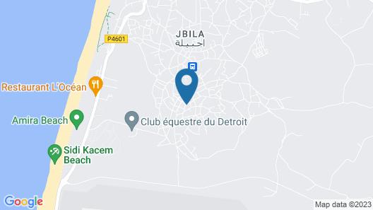Villa Dar Jbila Map
