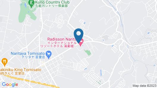 Radisson Narita Map