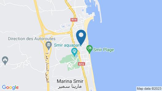 Villa KDR Map