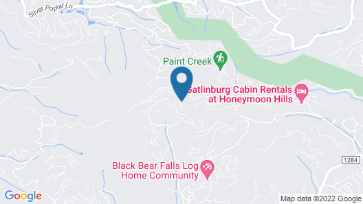 Bear Trails - Two Bedroom Cabin Map