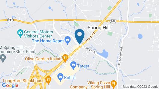 Best Western Spring Hill Inn & Suites Map