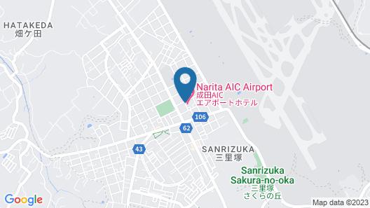 Narita AIC Airport Hotel Map