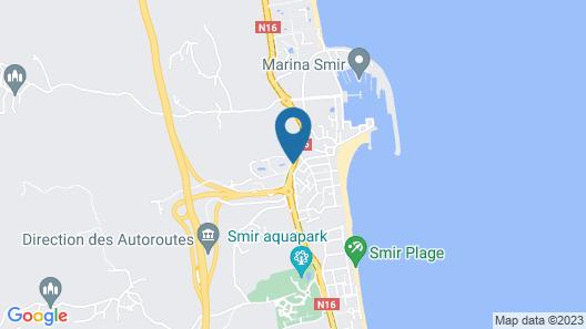 Jawhara Smir Residence Map