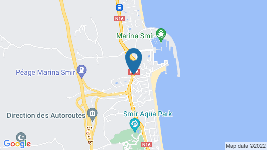 Marina Smir Hotel & Spa Map