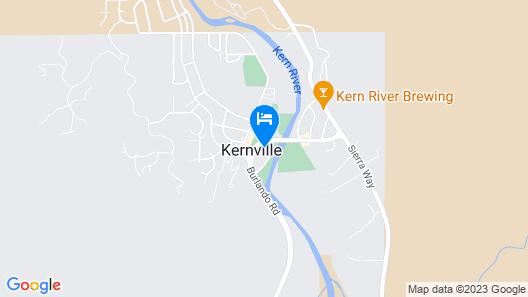 Kernville Inn Map