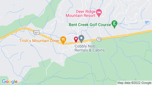 White Oak Lodge & Resort Map