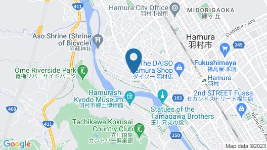 Tamagawa-en Map