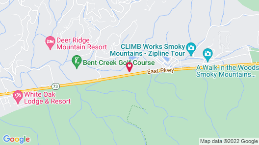 Bent Creek Golf Village Resort by Diamond Resorts Map