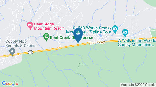 Bent Creek Golf Village Resort by Diamond Resorts Map