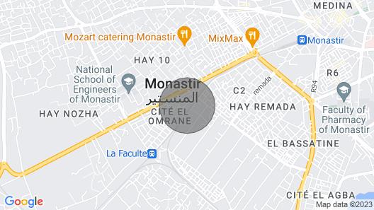 résidence Mourabitine  service syndic dans la cité pour  un agréable séjour assu Map