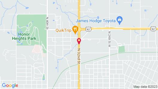 La Quinta Inn & Suites by Wyndham Muskogee Map