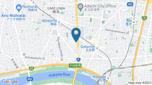RYOKAN & DAY SHIZUKU Map