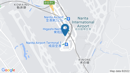 Narita Airport Rest House Map