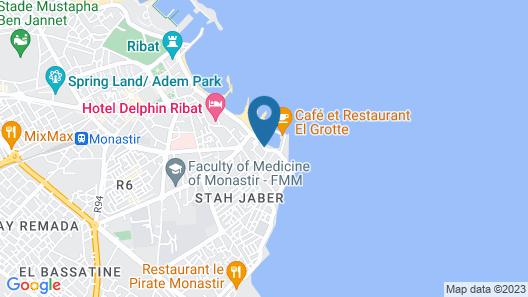 Hôtel Mezri Map