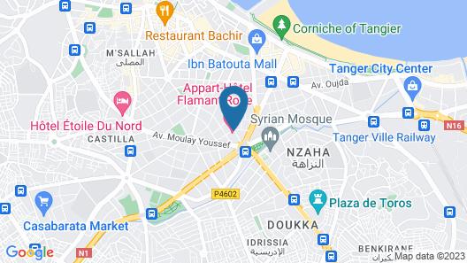 Flamant Rose Map