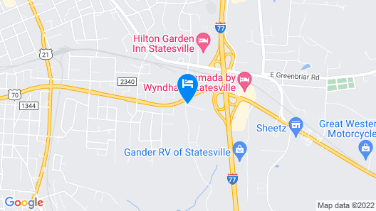 Microtel Inn & Suites by Wyndham Statesville Map