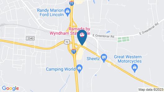 Ramada by Wyndham Statesville Map
