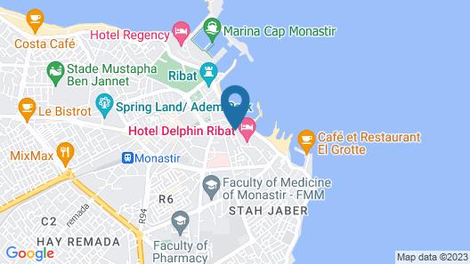 Delphin El Habib Map