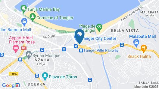 Royal Tulip City Center Tanger Map