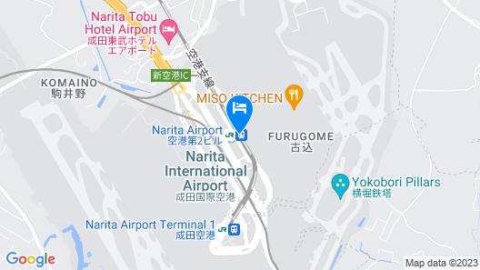 nine hours Narita Map
