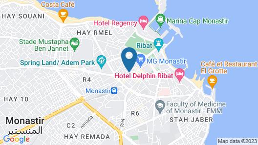 Dar Benti Map