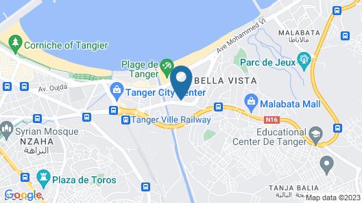 Ramada Encore by Wyndham Tangier Map
