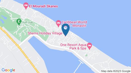 Shems Holiday Village & Aquapark Map
