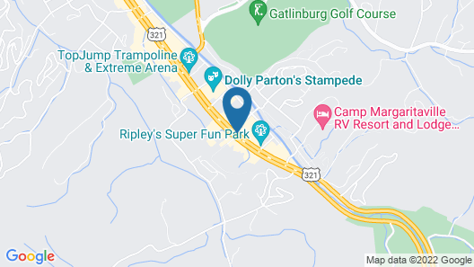 Cold Creek Resort Map