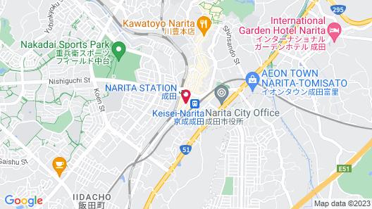 HOTEL WELCO NARITA Map