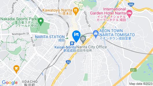APA Hotel Keisei Narita-Ekimae Map