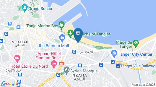 Kenzi Solazur Hotel Map