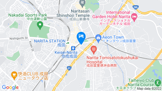 Meet Inn Narita Map